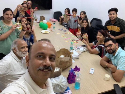 rakshabandhan celebration at hopbug